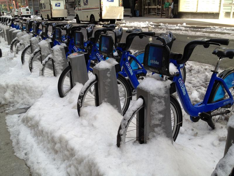 It's been a long, cold winter for Citi Bike.