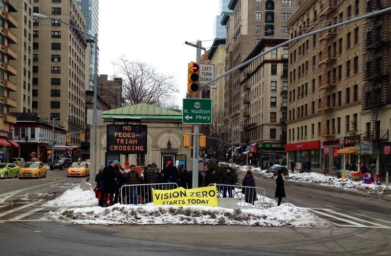 Vision zero pedestrian advocates