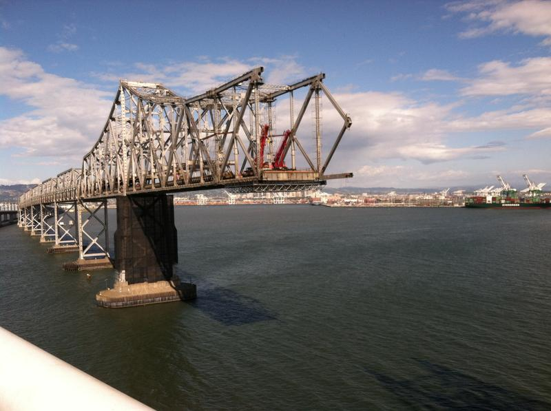 The old east span of the Bay Bridge
