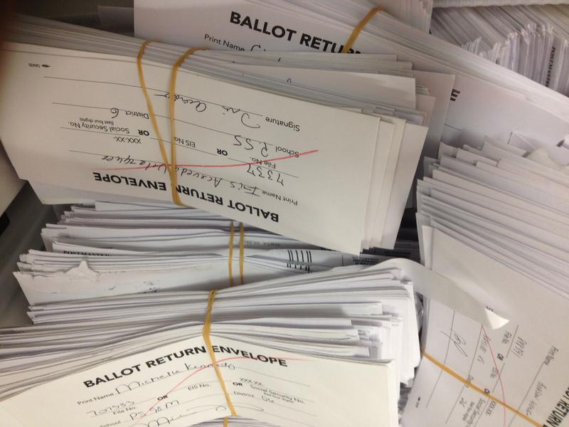 Votes on the teachers union contract waiting to be counted