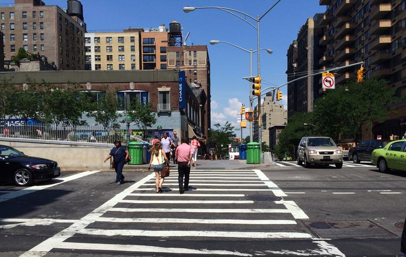 MTA buses have killed eight pedestrians this year, seven of them in crosswalks.