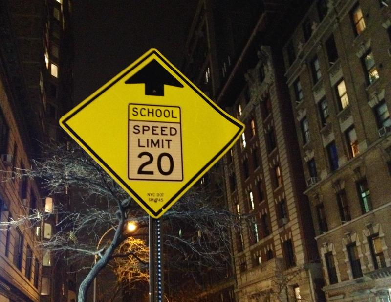 School zone in NYC