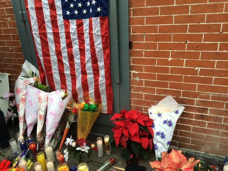 Officers Wenjian Liu and Rafael Ramos were shot by a gunman from Baltimore while in their patrol cars.
