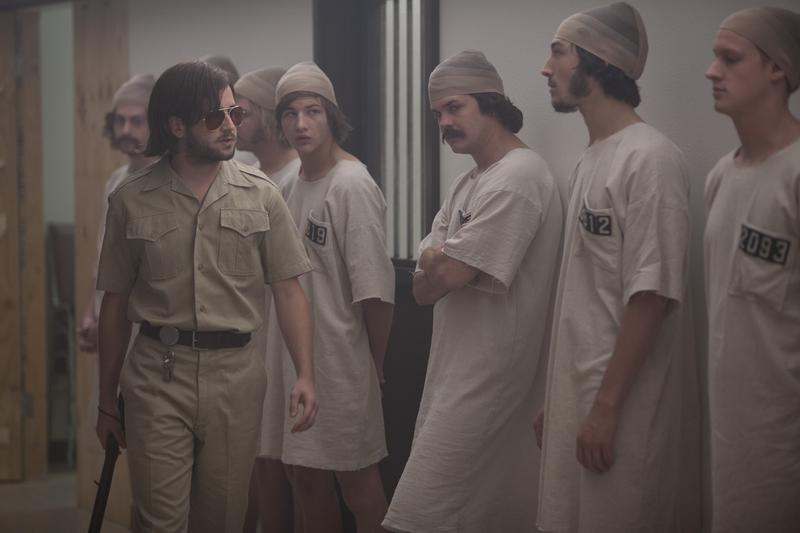 THE STANFORD PRISON EXPERIMENT Michael Angarano & Tye Sheridan & Johnny Simmons & Ezra Miller & Chris Sheffield
