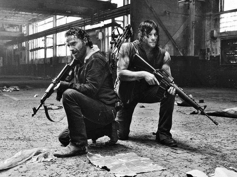 """Scene from """"The Walking Dead."""""""