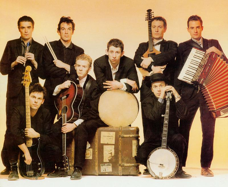 The Pogues, on the cover of their 1988 album If I Should Fall From Grace With God