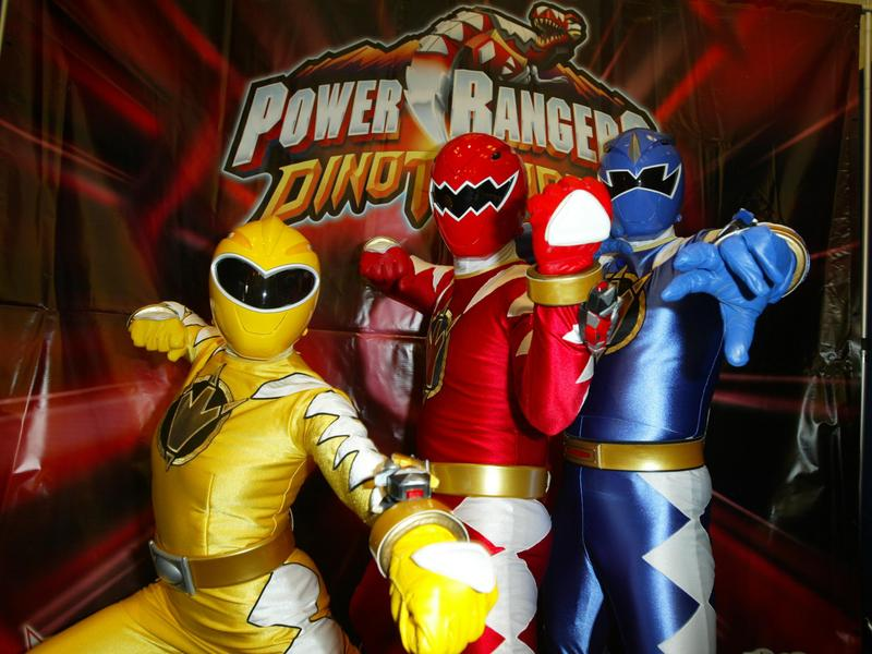 Power Rangers in 2004.