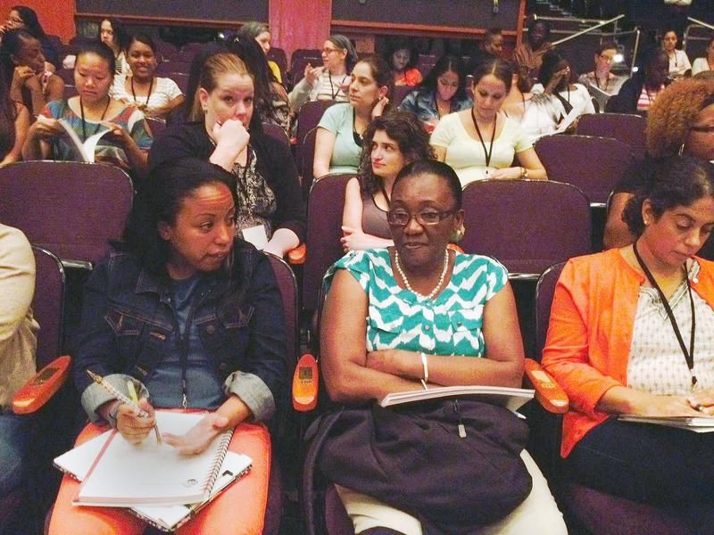 About 1,000 teachers attended the pre-k training institute this week at Brooklyn College.