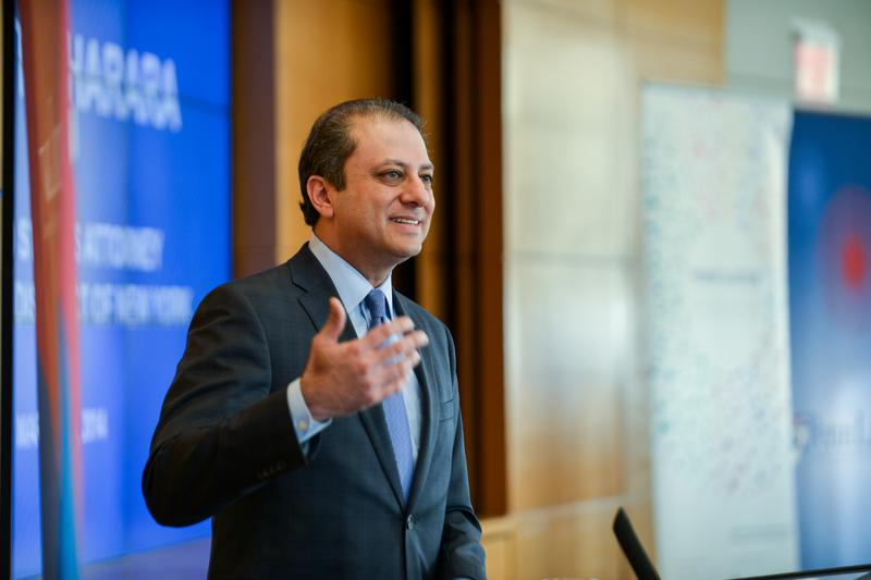 Preet Bharara, U.S. Attorney, Southern District of New York