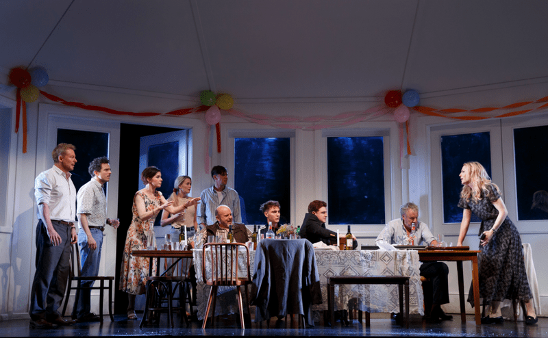 "The Sydney Theatre Company production of ""The Present"" now on Broadway"
