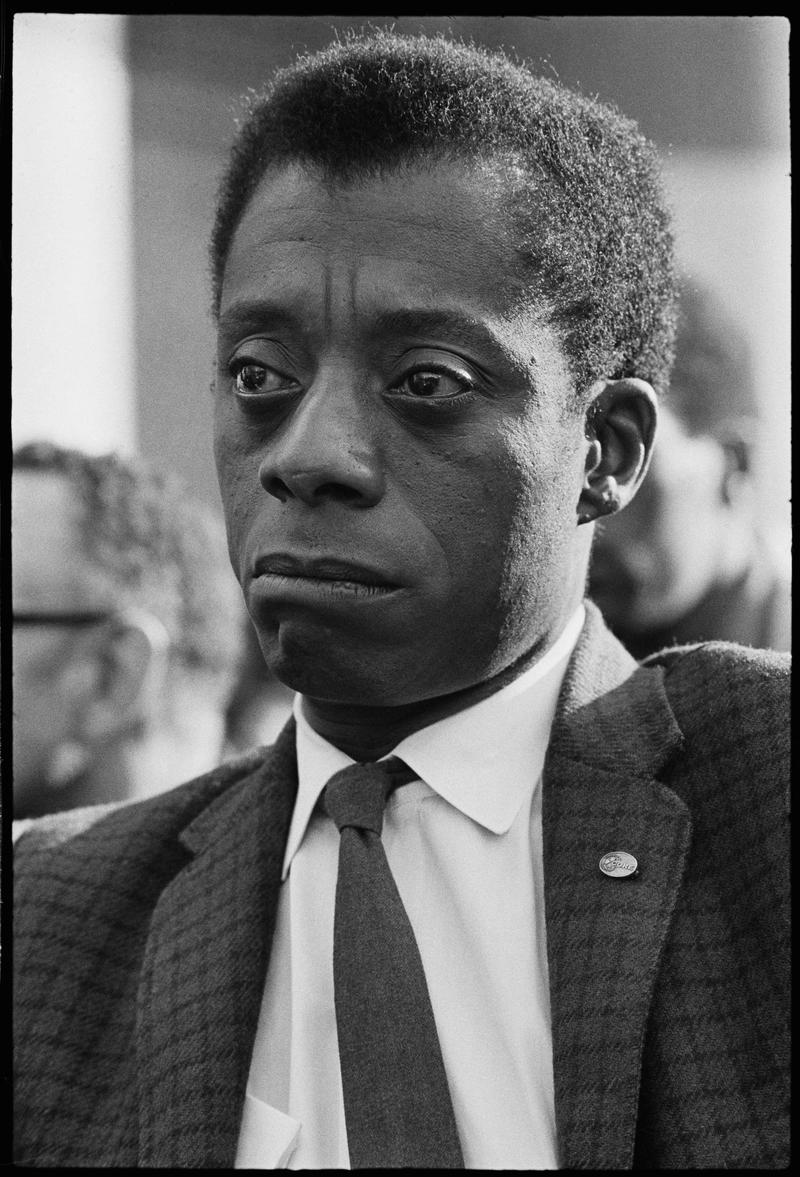 James Baldwin in I AM NOT YOUR NEGRO, a Magnolia Pictures release. Photo courtesy of Magnolia Pictures.
