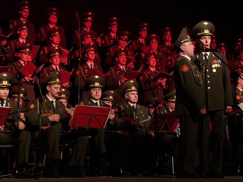 The Alexandrov Ensemble in Concert at Bielsko-Biala