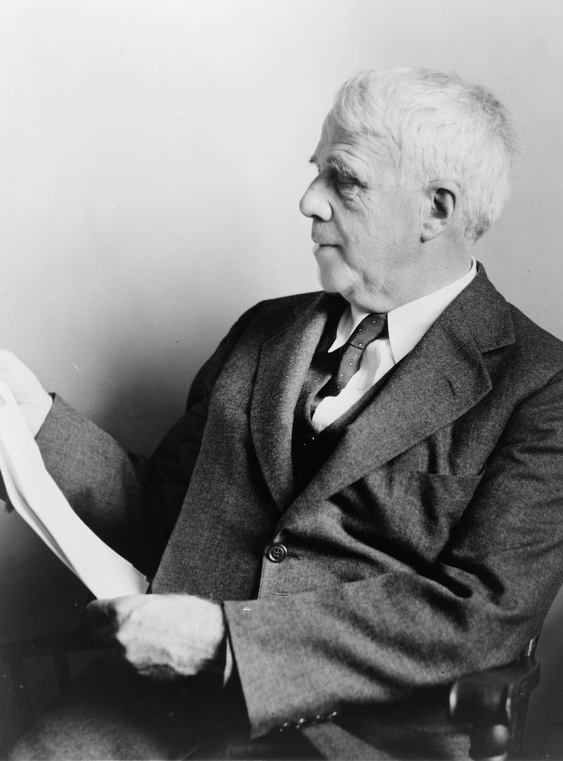 American poet Robert Frost circa 1941.