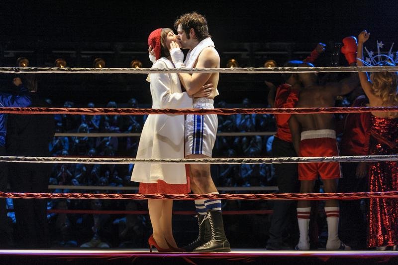 Scene from the musical Rocky, produced and co-written by actor Sylvester Stallone