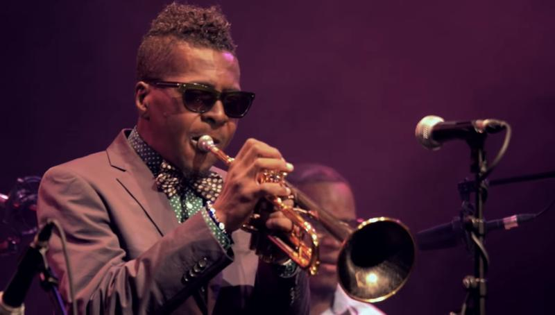Trumpeter Roy Hargrove, Sept. 2016