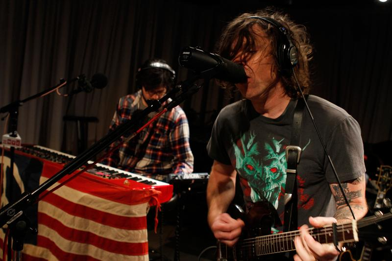 Ryan Adams performs in the Soundcheck studio.