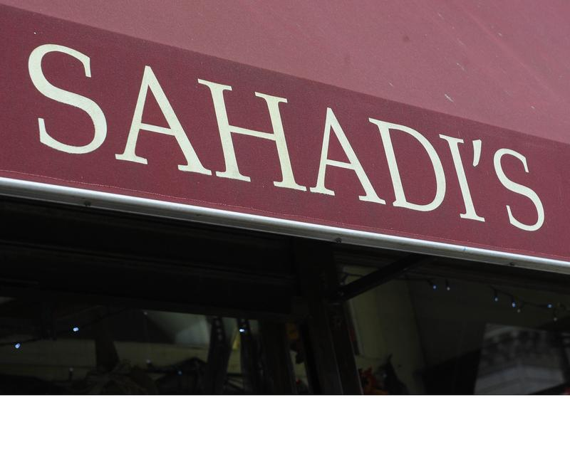 Sahadi Importing Co. along Atlantic Ave. in Brooklyn where a Barney's CO-OP just opened across the street.
