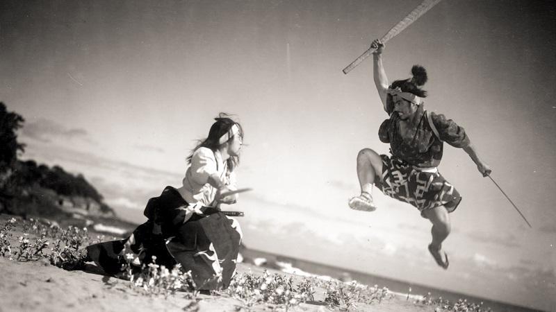 """""""SAMURAI TRILOGY"""" with Koji Tsuruta & Mifune."""