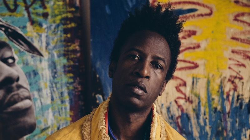 Saul Williams' latest record is called 'Martyr Loser King.'