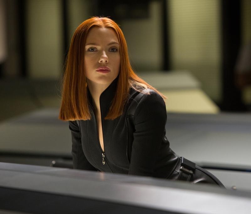 Scarlett Johansson as Black Widow in <em>Captain America: The Winter Soldier</em>