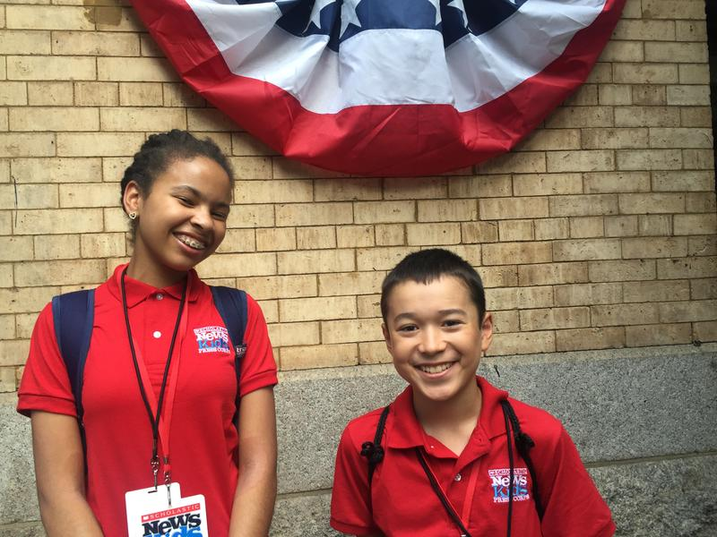 Scholastic News Kids Press Corps at the DNC