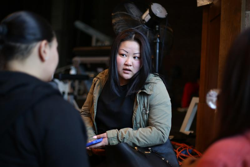 Paula Dinh transferred to West Brooklyn Community High School in 2010, after spending two years at New Utrecht High School.