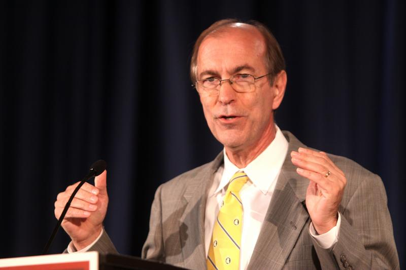 Congressman Scott Garrett of New Jersey speaking at the 2012 Liberty Political Action Conference in Chantilly, Virginia.
