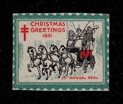 1931 Christmas Seal