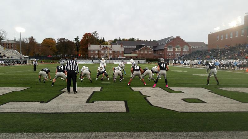 The Columbia football team traveled to Dartmouth College for a game against one of the best teams in the Ivy League.