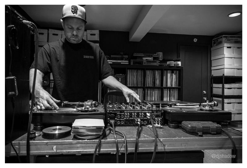 DJ Shadow's latest record is 'The Mountain Will Fall.'