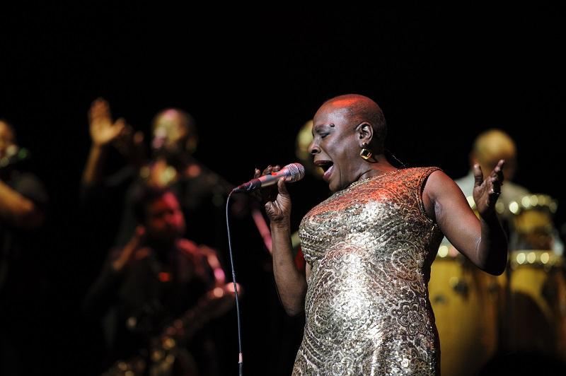 Sharon Jones performs in concert.