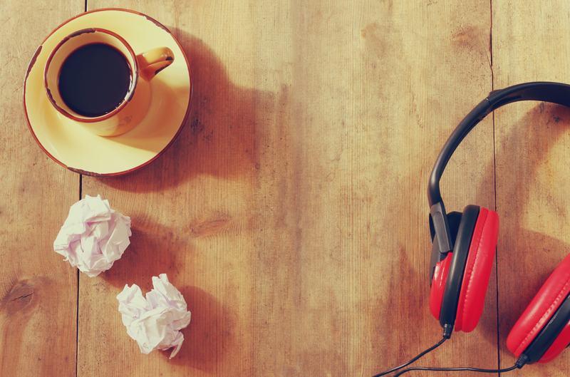 Headphones and Coffee