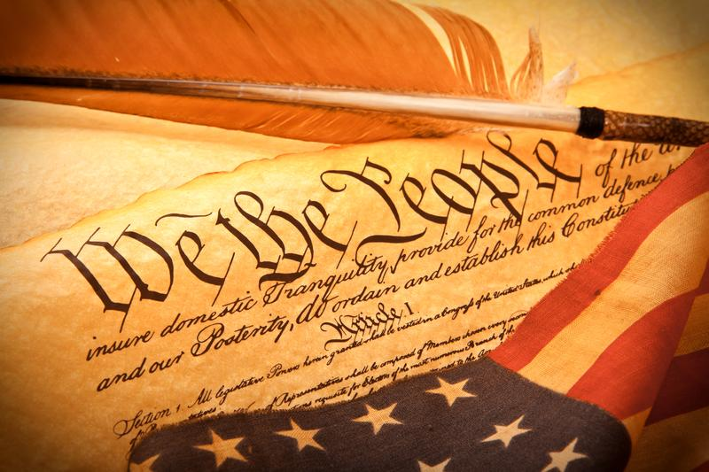 An old fashioned American Constitution