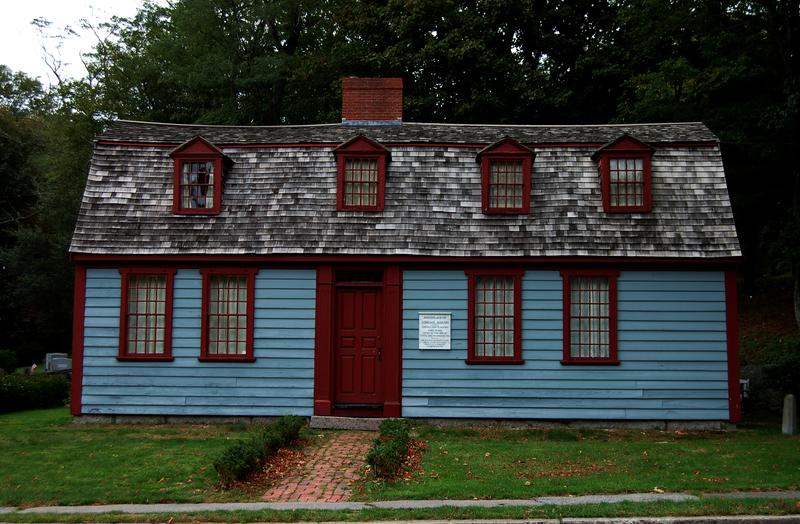 The birthplace of Abigail Adams in Weymouth, MA
