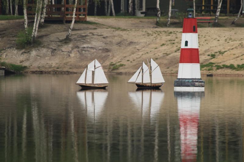 Toy sailboats