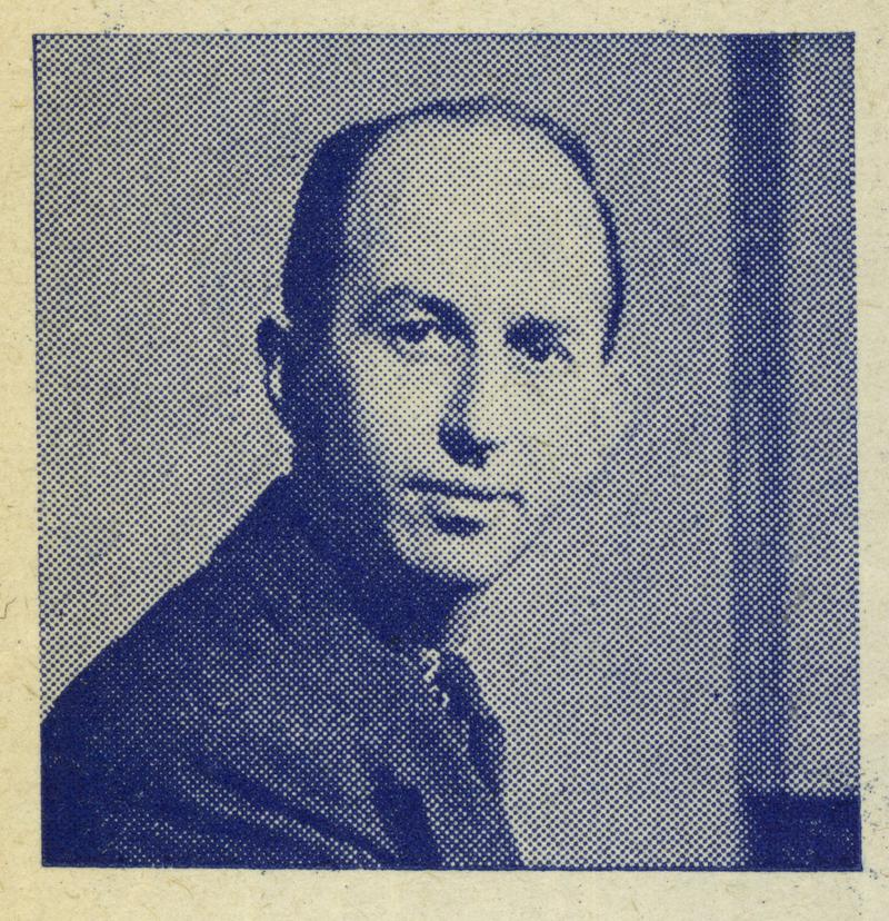 WQXR Producer Alfred E. Simon in 1943.