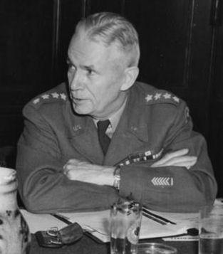 General Brehon B. Somervell, at a meeting of Joint Chiefs of Staff during the Potsdam Conference, July 21, 1945.