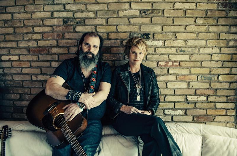 """Steve Earle pictured with Shawn Colvin for their album collaboration """"Colvin & Earle."""""""