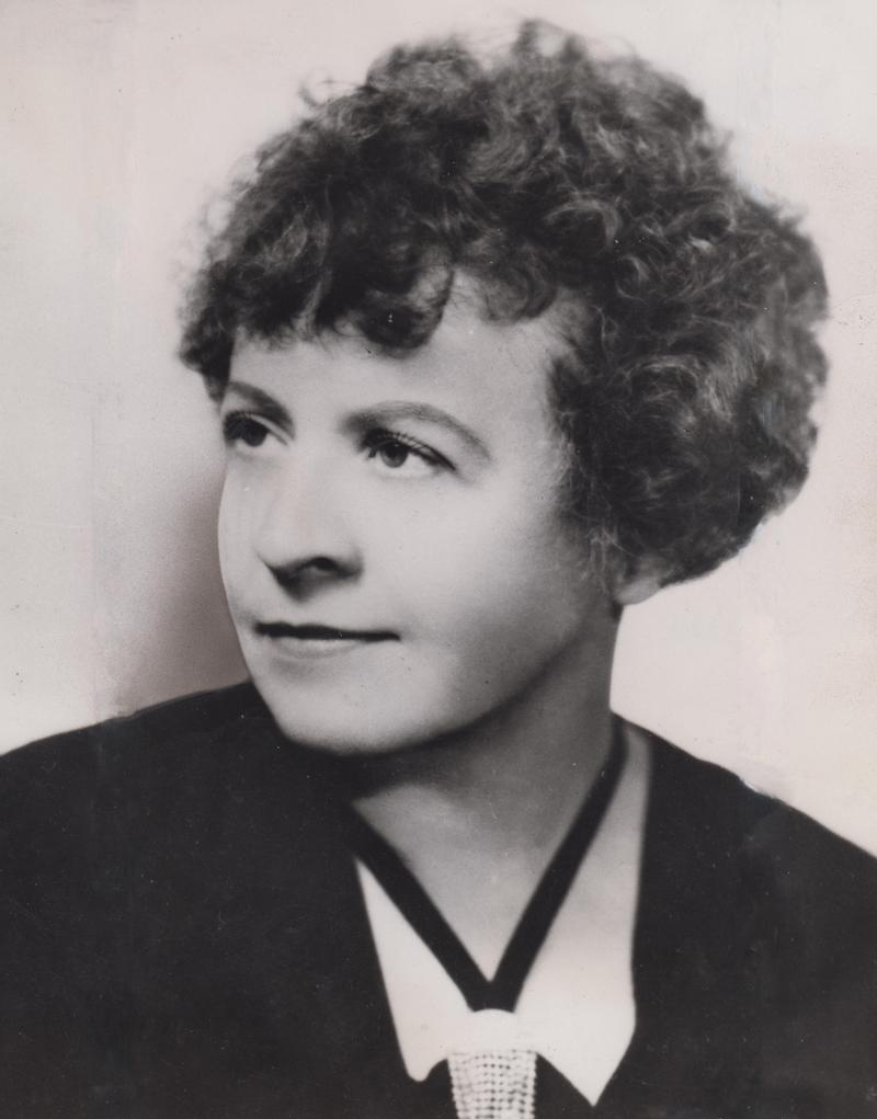 Mme. Olga Samaroff-Stokowski in a 1943 publicity photo.
