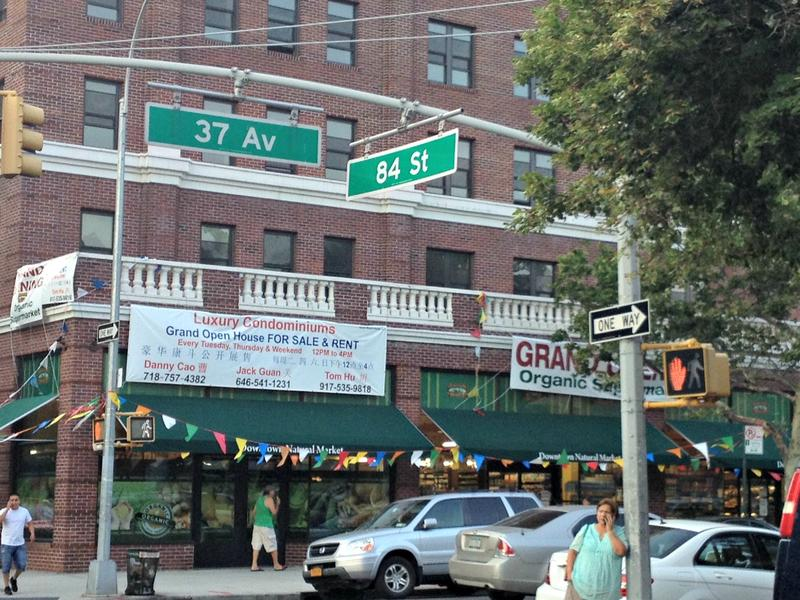 Two square blocks in Jackson Heights are at the center of a push to alter school district lines.
