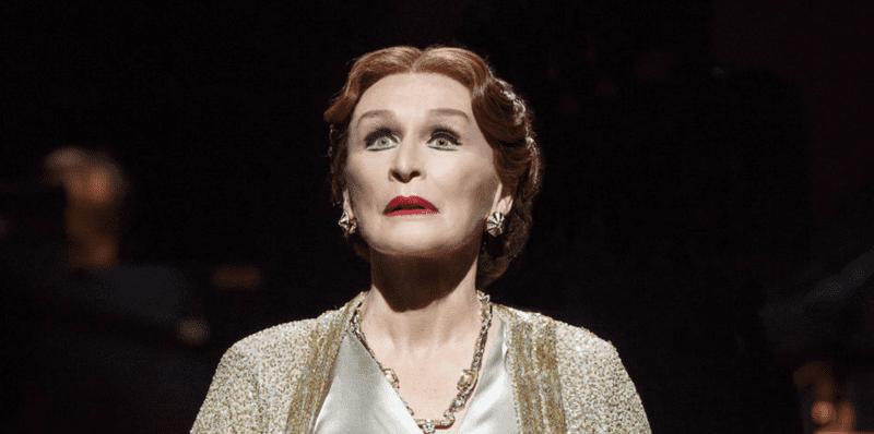 "Glenn Close as Norma Desmond in ""Sunset Boulevard"""