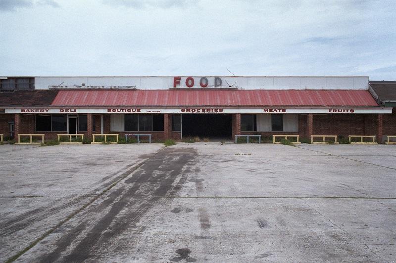 Abandoned supermarket.