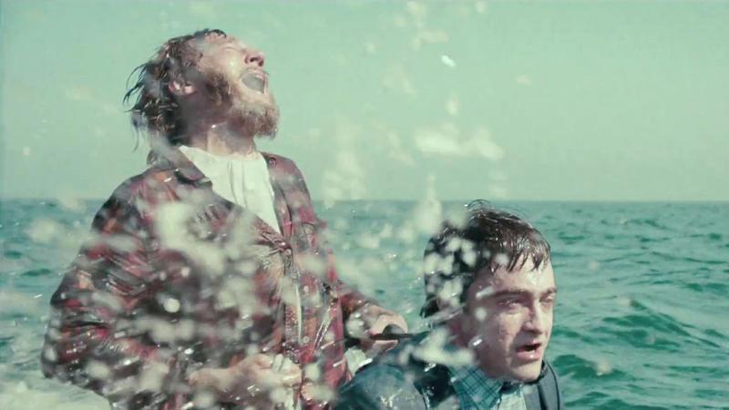 Paul Dano (L) and Daniel Radcliffe in 'Swiss Army Man.'