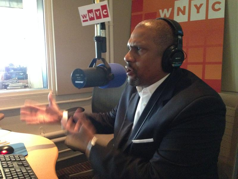 Tavis Smiley in WNYC Studio 2