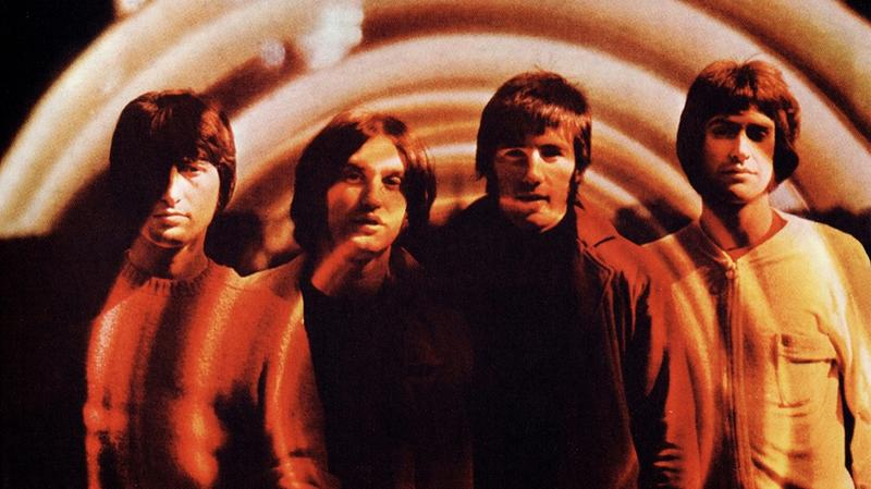 The Kinks' album cover to The Kinks Are The Village Green Preservation Society.