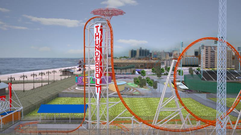 The new Thunderbolt coming to Luna Park this summer.