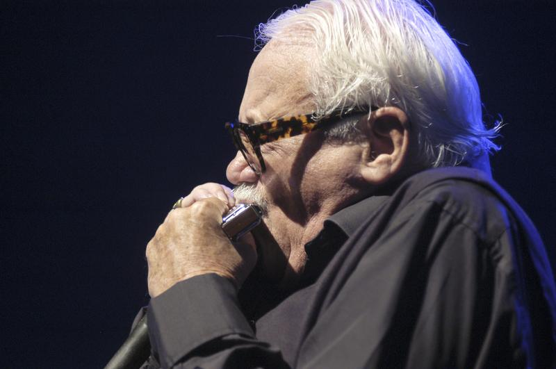Toots Thielemans, harmonica, performs at the North Sea Jazz Festival on July 13th 2002 in Amsterdam, Netherlands