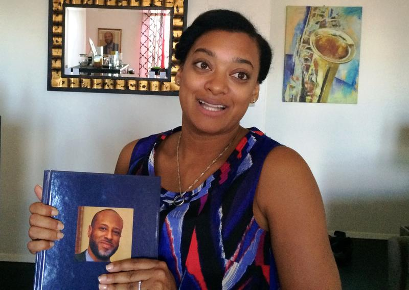 Trenelle Gabay talks about her husband in the Brooklyn apartment they shared