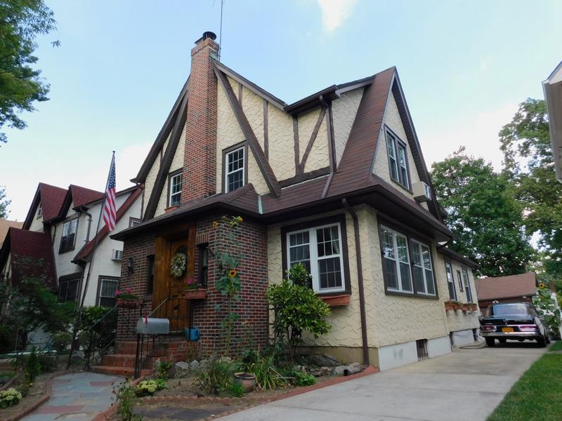Donald Trump's childhood home 85-15 Wareham Place, Jamaica Estates, Queens