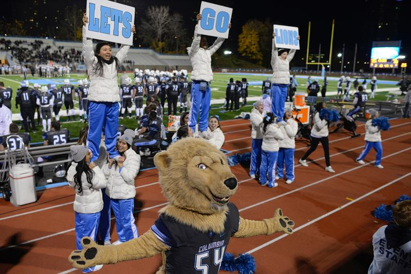 Columbia faced Brown Friday night in the last game of the 2015 football season.